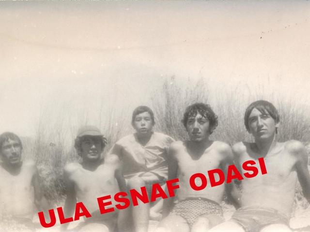 1973 Yılı Yazında Gökova Plajında Çekildiğimiz Resim Soldan Sağa Doğru Yusuf Tabak, Cemil Şatıroğlu, Salih Sül, Ali Demirbaş