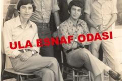 1973 Yılı Eylül Ayında Samimi Arkadaşlarımla Ula'da Çektirdiğimiz Resim Soldan Sağa Doğru Ali Demirbaş, Yusuf TABAK, , Cemil Şatıroğlu, Hulisi Tabak