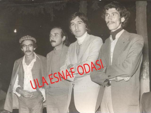 Soldan Sağa Doğru Coşkun Dere, Halil Aytar, Ali Demirbaş, Gültekin Gönül,