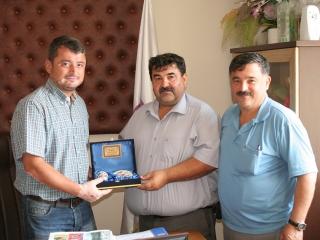 Çıtlık Mahalle Muhtarı Mehmet KAVASOĞLU, Ula Esnaf ve Sanatkarlar Odası Denetim Kurulu Başkanı Nihat ÇAYLAK