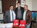 Antalya Berberler Odası Başkanı Yüksel UZUN, Antalya Berberler Odası Başkan Vekili Mustafa GÜR