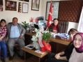 Dalaman Esnaf ve Sanatkarlar Odası Başkanı Sayın Şevket TAKAR, Genel Sekreteri Şirin KARABIYIK