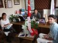 Ege Test Çevre Ölcüm Analiz Laboratuvar Sorumlusu Kıymet EFE, Müşteri Temsilcisi Serkan ÇALIŞKAN