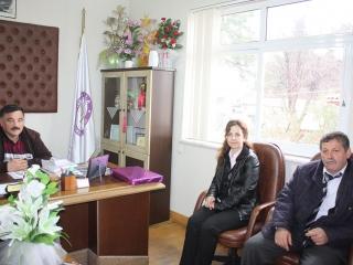 Gelir Uzmanı Özlem USTAEL, Ula Mal Müdürlüğünde Memur Halis KANAT