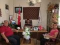 Kızılyaka Mahalle Muhtarı Selma Şensoy ÇETİN, Muğla Yörük Obaları Derneği Başkanı ve Aynı Zamanda Kızılağaç Mahalle Muhtarı Orhan AKCAN