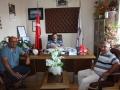 Karaböğürtlen Mahallesinden Mehmet Kardeşlerimiz ziyarete geldi.