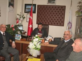 Muğla Amatör Spor Kulüpleri Federasyonu Başkanı Mehmet TOP, Muğla Futbol İl Temsilcisi Ali KARAKAYA, Ula Belediye spor Kulübü Başkanı