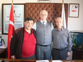 Muğla Esnaf ve Sanatkalar Odaları Birliği Başkanı Şükrü AYYILDIZ, Üyemiz Şaban İbrahim DOKUR