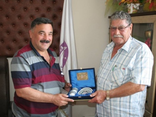 Odamıza Destek Sağlayan Meşhur Akçapınar Tostcu İşletmesinin Sahibi Mustafa Dalgıç Odamıza Ziyarette Bulundu.