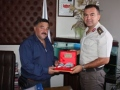 Ula İlçe Jandarma ve Garnizom Komutanı Üsteğmen Mesut YILMAZ
