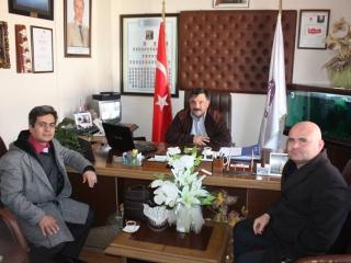 Ula Ali Koçman Meslek Yüksekokulu Müdürü Doç.Dr. Faruk ŞEN, Öğretim Görevlisi Mehmet Ali ALKAN