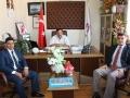 Ula Eğtim Bir Sen Başkanı Erdem Kartal , Başkan Vekili Ali Kaan Kutlu İlk ziyaretini Odamıza Gerçekleştirmiştir.
