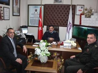 Ula Kaymakamı Ali Yılmaz - Ula İlçe Jandarma ve Garnizom Komutanı Üsteğmen Mesut YILMAZ