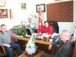 Ula Mal Düdürlüğünde Görevli Bülent SABANCI Alparslan Mah. Muhtarı Şaban İbrahim DOKUR