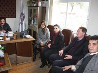Ula Milli Eğitim Şube Müdürü ALİ Kaan KUTLU, Ula Halk Eğitim Müdürü Kadir AYDIN, Misafirlerimiz