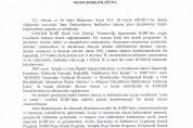 T.C. Orman ve Su İşleri Bakanlığı Devlet Su İşleri  Genel Müdürlüğü Talep Yazısı ve Cevabı