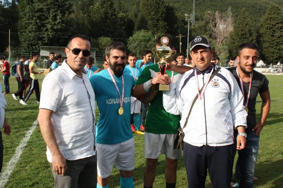 2016 Kaymakamlık Bahar Turnuvası Şampiyonu Ula Esnaf Spor